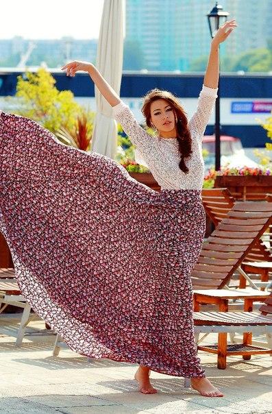 Торсионные поля от юбки